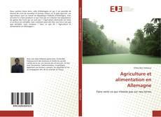 Bookcover of Agriculture et alimentation en Allemagne