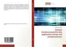Analyse d'ordonnançabilité des application temps-réel multiprocesseur kitap kapağı