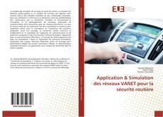 Capa do livro de Application & Simulation des réseaux VANET pour la sécurité routière