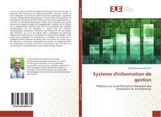 Systeme d'information de gestion kitap kapağı