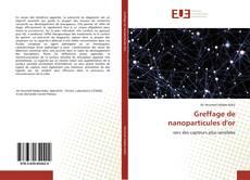 Copertina di Greffage de nanoparticules d'or