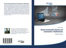 Copertina di Socio-economic factors of consumer`s behaviour