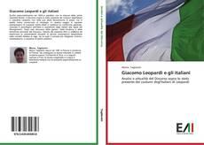Couverture de Giacomo Leopardi e gli italiani