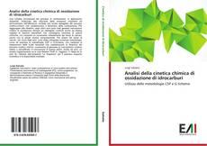 Copertina di Analisi della cinetica chimica di ossidazione di idrocarburi