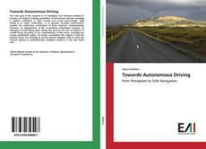 Обложка Towards Autonomous Driving