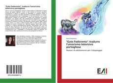 """Buchcover von """"Gato Fedorento"""": tradurre l'umorismo televisivo portoghese"""