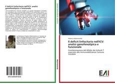 Buchcover von Il deficit linfocitario nell'ICV: analisi genofenotipica e funzionale
