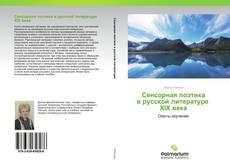 Bookcover of Сенсорная поэтика в русской литературе XIX века