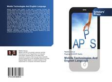 Mobile Technologies And English Language kitap kapağı