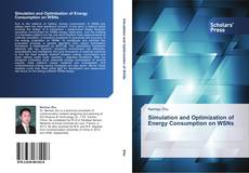 Capa do livro de Simulation and Optimization of Energy Consumption on WSNs