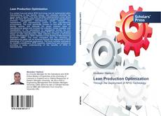 Bookcover of Lean Production Optimization