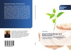 Couverture de Organization Design and Performance