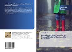 Bookcover of From Ecological Footprint to Integral Model of Sustainable Evaluation
