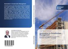 Buchcover von Automation in Construction Management