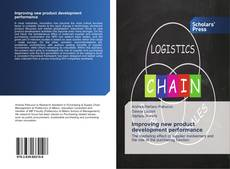 Bookcover of Improving new product development performance