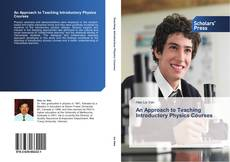 Bookcover of An Approach to Teaching Introductory Physics Courses