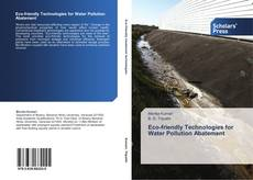 Обложка Eco-friendly Technologies for Water Pollution Abatement