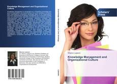 Portada del libro de Knowledge Management and Organizational Culture