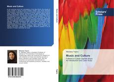 Copertina di Music and Culture