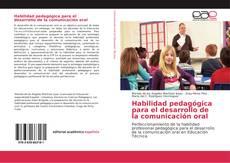 Portada del libro de Habilidad pedagógica para el desarrollo de la comunicación oral