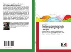 Bookcover of Applicazioni geodetiche allo studio dell'idrogeologia del Cansiglio