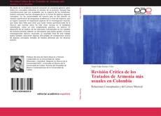 Portada del libro de Revisión Crítica de los Tratados de Armonía más usuales en Colombia