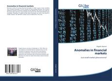 Couverture de Anomalies in financial markets
