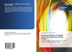 Bookcover of Improved Space to Height index Considering Critical Height
