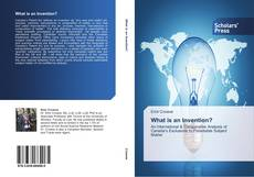 Portada del libro de What is an Invention?