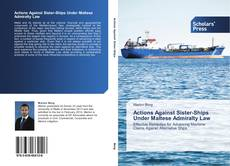 Bookcover of Actions Against Sister-Ships Under Maltese Admiralty Law