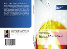 Buchcover von Solitons in DNA and Biological Implications