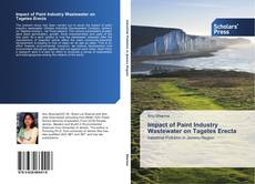 Capa do livro de Impact of Paint Industry Wastewater on Tagetes Erecta