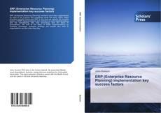 ERP (Enterprise Resource Planning) implementation key success factors kitap kapağı