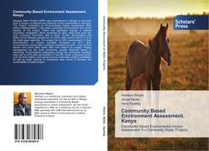 Portada del libro de Community Based Environment Assessment, Kenya