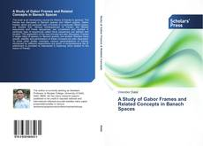 Bookcover of A Study of Gabor Frames and Related Concepts in Banach Spaces