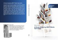 Bookcover of A Study Analyzing NBCT Media Specialists