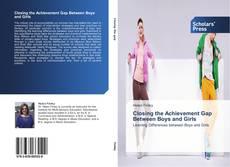 Buchcover von Closing the Achievement Gap Between Boys and Girls