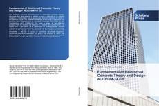 Copertina di Fundamental of Reinforced Concrete Theory and Design- ACI 318M-14 Ed.