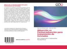 Portada del libro de Adsorción vs Fenton/adsorción para tratamiento de lixiviados