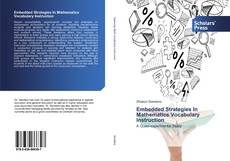 Bookcover of Embedded Strategies In Mathematics Vocabulary Instruction