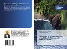 Bookcover of Estimation of Soil Erosion Risk in Mubi South Watershed, Adamawa State