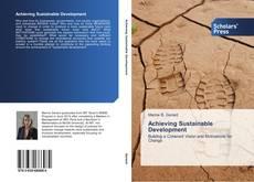 Buchcover von Achieving Sustainable Development