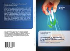 Capa do livro de Assessment of Antioxidant Potentials of Photoprotective Herbs