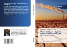 Buchcover von Climate Change in Libya and Desertification of Jifara Plain