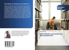 Couverture de Social Media and Academics Accomplishment