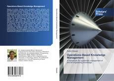 Bookcover of Operations-Based Knowledge Management