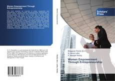 Portada del libro de Women Empowerment Through Entrepreneurship