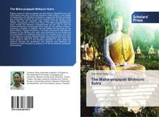 Capa do livro de The Maha-prajapati Bhiksuni Sutra