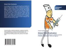 Bookcover of Global Polio Eradication