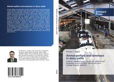Bookcover of Animal welfare and lameness in dairy cattle